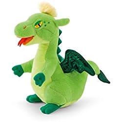 Trudi - Peluche electrónico mini dragón, color verde (52429)