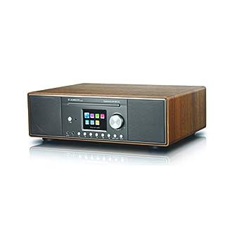 Albrecht DR890 DAB+/Internet-Radio, inkl. CD-Player, WLAN-Schnittstelle und Bluetooth für Musik-Streaming, Testsieger: Preis/Leistung sehr gut