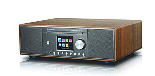 Albrecht DR890 DAB+/Internet-Radio, 27389.02, inkl. CD-Player, WLAN-Schnittstelle und Bluetooth für Musik-Streaming, Testsieger: Preis/Leistung sehr gut