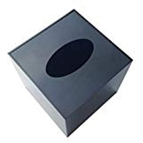Exemption network science Super Versteckte Überwachung Tissue Box, elektronische Uhr Box, Es ist geeignet für Mini-Kamera und Kleine Bewegung Kamera. (Schwarz)