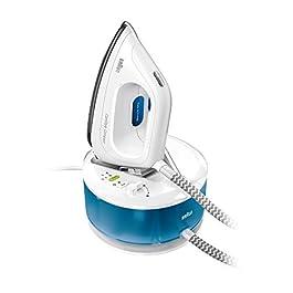 Braun Carestyle 2 Compact IS2043BL Sistema Stirante, 2200 W, 1.3 Litri, 110, Plastic, Bianco e Blu