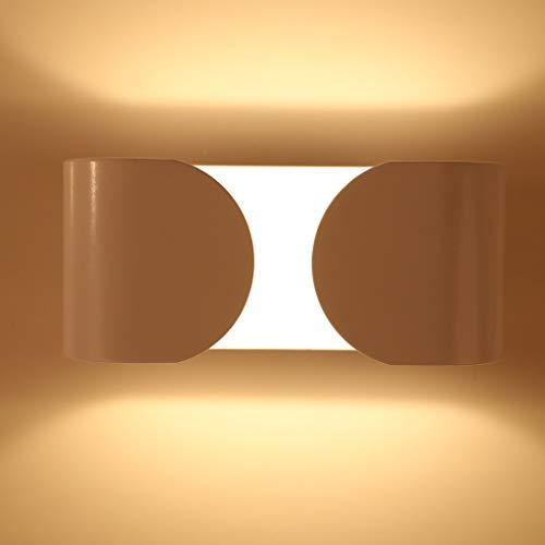 (DIKHBJWQ,Kreative runde Spirale Wandleuchte LED Dekoration Zimmer Wohnzimmer Scheinwerfer Gang,Tischlampe Kinderzimmer,Wohnaccessoires,Wandleuchten schwarz)