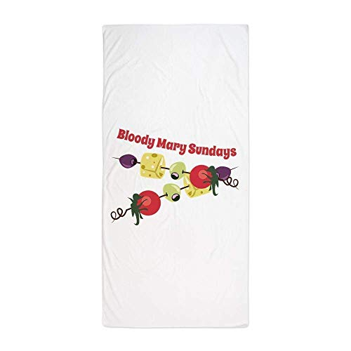 Gebrb Duschtücher/Badetücher,Strandtücher, Bloody Mary SundaysLarge Beach Towel, Soft 31