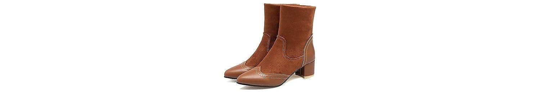 RTRY Zapatos De Mujer Invierno Materiales Personalizados Botas De Nieve Botas De Montar Botas De Moda Botas De... -