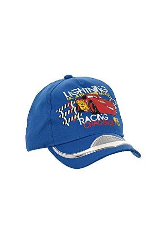 Disney Cars Lightning McQueen (4303) - Baseball Cap Basecap für Kinder Jungen Mädchen, blau Größe: 52 cm