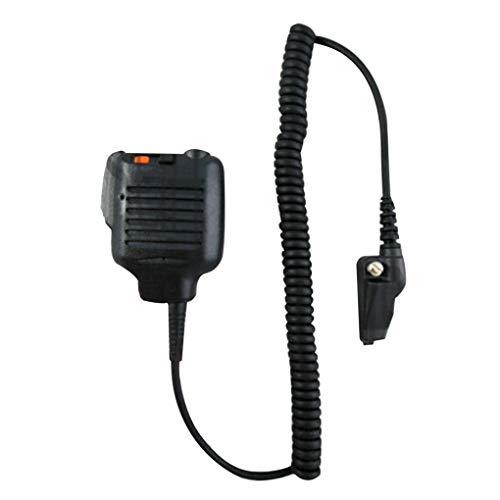 Timlatte Ersatz für Kenwood TK3180 TK380 TK480 TK481 Gerät TK2180 TK2150 KMC-25-Radio Mic Hand Lautsprecher-Mikrofon (Kenwood Radio Tk2180)