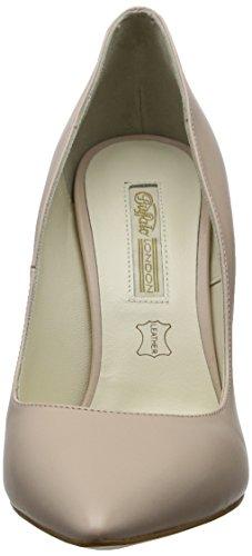 Buffalo London 11335x-269 L, Scarpe con Tacco Donna Beige (Nude 42)