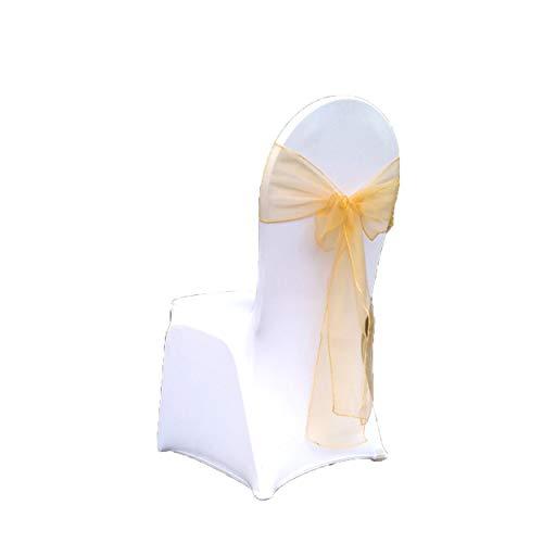 Paquete Especial Nupcial 25 Piezas Sillas Silla Organza