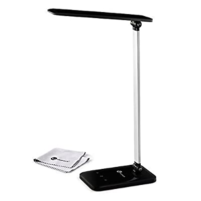 TaoTronics Touch Control 3-Level Dimmable LED Desk Lamp (6W, Adjustable Arm)