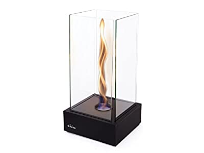 Purline Tornado Bioethanol Tabletop Fireplace with Swirling Flames