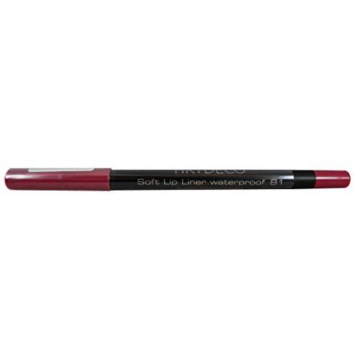 Artdeco Soft Lip Liner Waterproof unisex, Wasserfester Lippenkonturenstift farbe: 81 soft pink, 1er Pack (1 x 1 g)