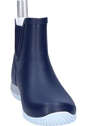 Tretorn Öresund navy Gummistiefelette für Damen Blau