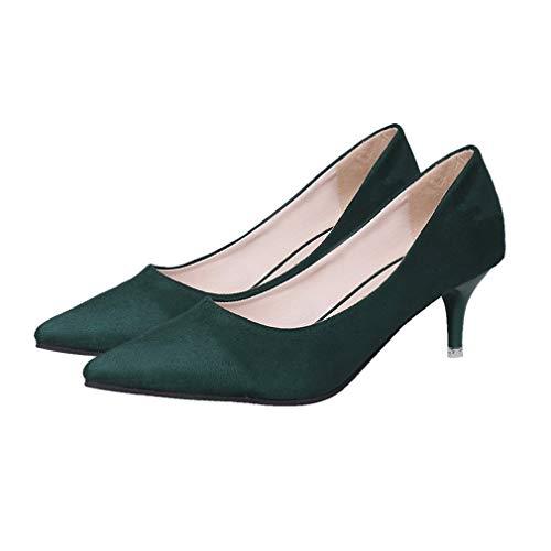 3ba08f901720 FDBF Fashion Thin Heels Women Pump Slip-on Pointed Toes Women High Heel  Shoes 39