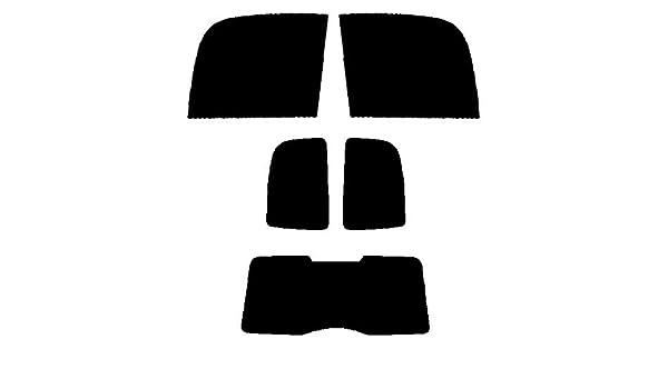 Vauxhall Zafira MPV 1999 to 2005 20/% Dark Tint PSSC Pre Cut Rear Car Window Films