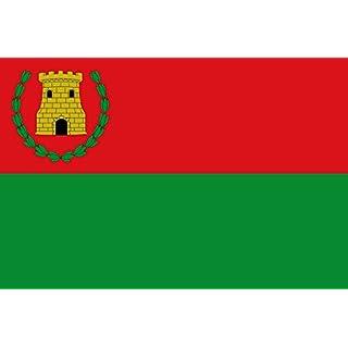 DIPLOMAT Flagge Almedíjar Spain | Almedíjar, in Castellón province, Spain | Proporciones 2 3. Por mitad en alto | Querformat Fahne | 0.06m² | 20x30cm für Flags Autofa