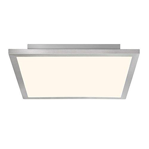 LED Panel 42W Deckenleuchte, 50 x 50 cm eckig, inkl. Fernbedienung, dimmbar, 3100 Lumen, 2700-6500K, Metall / Kunststoff, eisen -