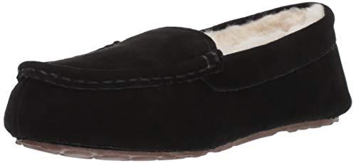 Amazon Essentials Pine Women's Leather Moccasin Slipper