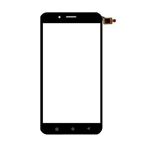 Screencart Front Outer Top Replacement Part Glass Lens Touch Screen Compatible with Micromax Q391 Black(Check properly before ordering - Color - White/Black/Gold as per the availability, NO LCD, NO DIGITIZER,NO COMBO,NO FOLDER) - Professional installation highly recommended