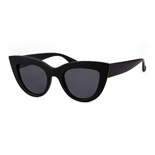 ADEWU Sexy Cat Eye Sunglasses Retro Vintage Trendy per le donne ragazza 18ea76e16804