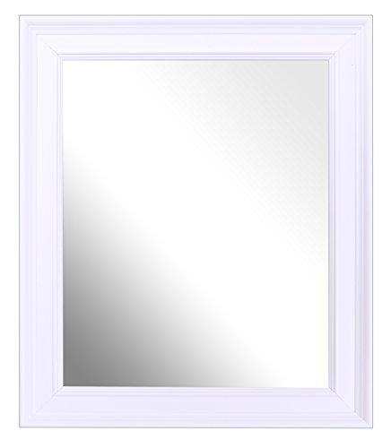 Strand Weiße Spiegel (Inov8Strand British Made Spiegel Rahmen, A4, weiß, 9x 12x 16cm)