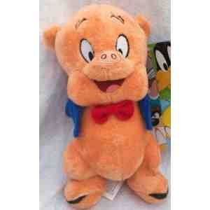 warner-brothers-8-porky-pig-looney-tunes-characters-plush-soft-stuffed-doll-toy