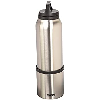 sigg hot cold one brushed vakuum isolierte thermo. Black Bedroom Furniture Sets. Home Design Ideas