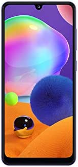 Samsung Galaxy A31 Dual SIM, 128GB, 4GB RAM, 4G LTE, UAE Version - Prism Crush Blue- 1 year local brand warran
