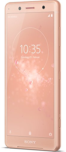 Sony Xperia XZ2 Compact Smartphone (12,7 cm (5,0 Zoll) IPS Full HD+ Display, 64 GB interner Speicher und 4 GB RAM, Dual-SIM, IP68, Android 8.0) coral pink - Deutsche Version