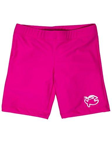 iQ-UV Mädchen UV 300 Shorts Kiddys Badehose, pink, 104/110