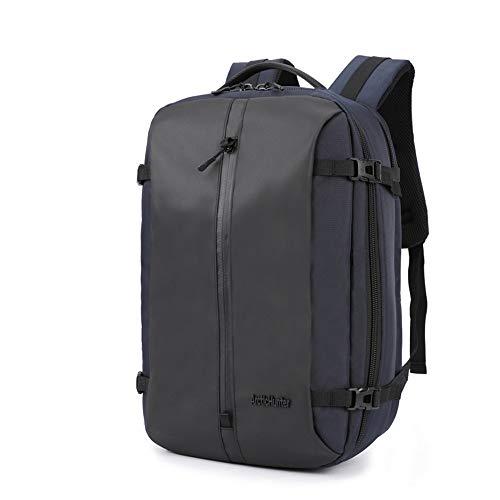 QIAN College Laptop Rucksack Lässiger Rucksack mit großer Kapazität Tagesrucksack Wasserdicht, langlebig und Abriebfest Für Männer und Frauen,Blue - Boot-männer Wasserdichte