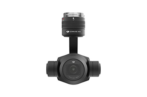 DJI Zenmuse X4S - Cámara para dron Inspire 2 de 20 MP (4 K/60 fps, sensor CMOS Exmor R de 1 pulgada, 8.8 mm/F2.8-11, precisión de estabilización) color negro