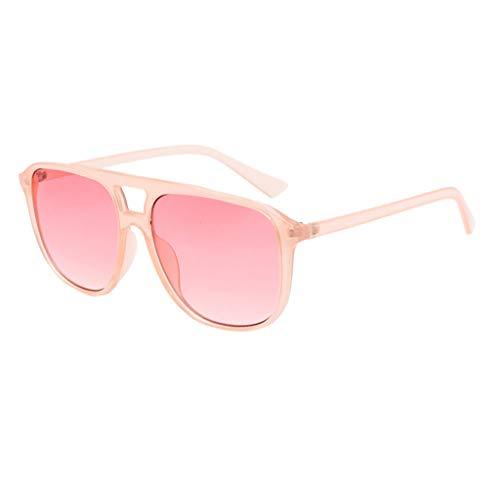 AOGOTO Polarisierte Sonnenbrille mit Farbverlauf für Frauen Mann verspiegelte Linse Mode Goggle Eyewear
