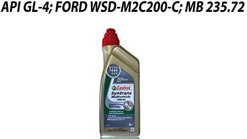 Castrol Syntrans Multivehicle 75W-90 - Olio per Cambio, 1 litro