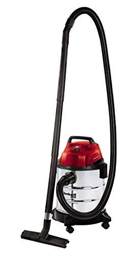 Einhell TH-VC 1820 S  -Aspirador seco - húmedo, inox, 180 mbar, 1250 W, 230 V, 80 dB ref. 2342167
