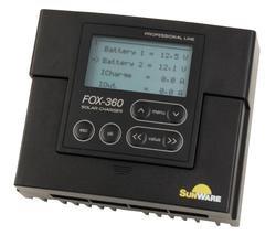 Sunware Solar Laderegler FOX-360 für 2-Batteriesysteme - Solar Beleuchtete Tastatur