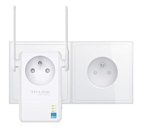 TP-Link WiFi-Repeater, Signalverstärker (Universelle Kompatibilität, einfache Installation) schwarz Wi-Fi N300