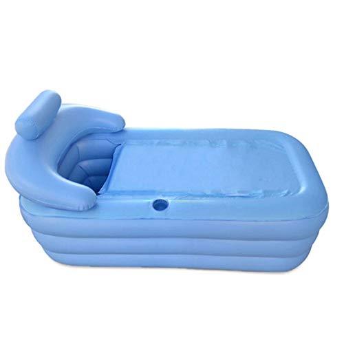 SuperGao Badewanne Aufblasbare PVC Single Bath Tub Tragbare Klappen Umweltschutz Becken Aufblasbaren Pool 1,6 M