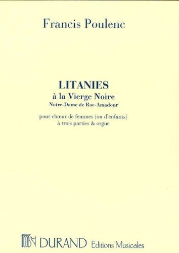 Litanies à la vierge Noire (Notre-Dame ...