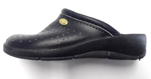 San Malo éco Sabots Infirmiers Chaussures avec perforations Bleu Marine