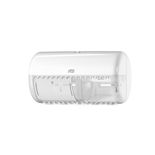 Tork 557000 - Dispensador doble rollo papel higiénico