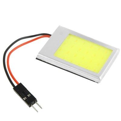 Luci di alta qualità, 9W weiße helle LED-Auto-Innenlampe mit T10 Dome + BA9S Girlande-Adapter