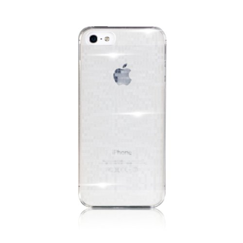 Bling-My-Thing Motoki Design MOSAIC Case for iPhone 5 (Clear) mi5-ms-cl-non