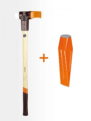 Gartenpaul Set: Halder Simplex - Spalthammer 4100g + Halder Drehspaltkeil 3000g