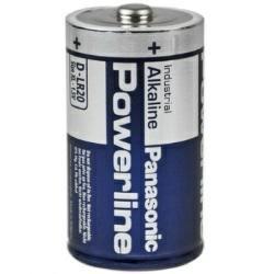 Powerline LR20 Panasonic Industrial Mono Batterie - 1 Stk Panasonic Industrial Alkaline