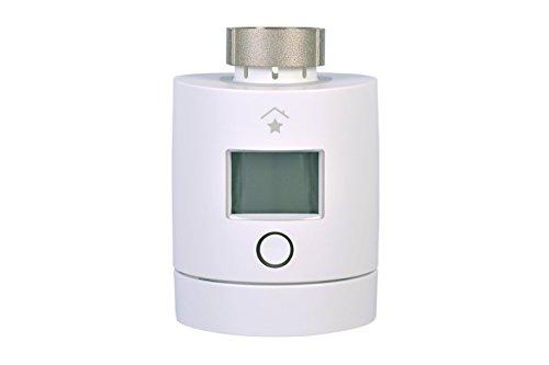 innogy SE SmartHome Heizkörperthermostat (2. Generation)/Heizungssteuerung, Programmierbare Temperaturregelung, mit Feuchtigkeitsmessung, App-Steuerung, funktioniert mit Amazon Echo/Alexa, 10265151