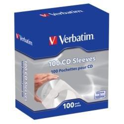 Verbatim Pochette CD capacité : 1 CD (pack de 100