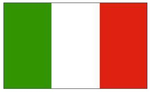 Giant 8ft x 5ft Italy Italian National Flag by Klicnow -