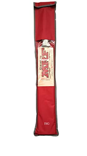 ISG Cricket Bat Cover (Free Size ; RED)