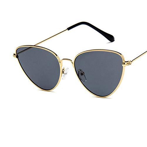 sijiaqi Unisex SonnenbrilleSonnenbrille-Frauen-kleines Gesichts-Damen-Sonnenbrille-Art- und Weisemänner tönten Objektiv Eyewear ab,Style 6