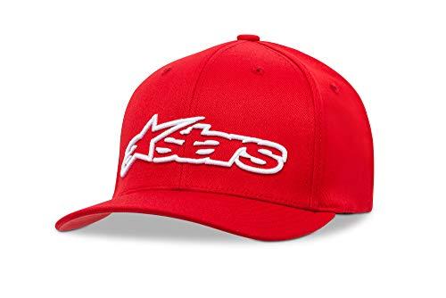 Alpinestars Blaze Flexfit - Unisex Baseball Cap, Kappe für Herren und Damen, Sportkappe rundum geschlossen -